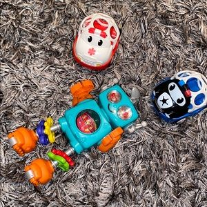 Cute little sensory baby toy bundle.